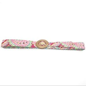 Vera Bradley Pink Floral One Size Fits All